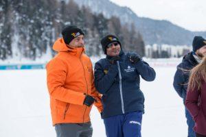 St. Moritz Ice Cricket - Akhtar Vs Sehwag