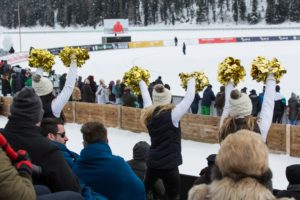 St. Moritz Ice Cricket - Cheerleaders