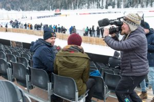 St. Moritz Ice Cricket - Organiser Vijay Singh