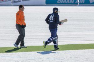 St. Moritz Ice Cricket - Sehwag