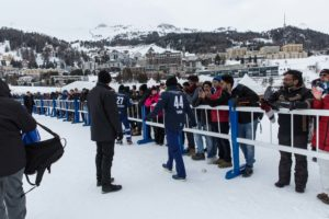 St. Moritz Ice Cricket - Sehwag Fans
